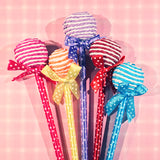 Round Lollipop Novelty Pens