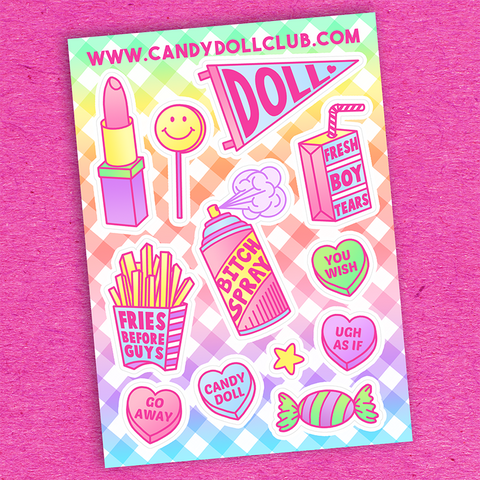 Girl Gang Sticker Sheet