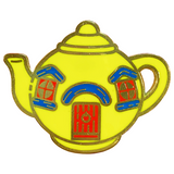 Big Yellow Teapot Pin