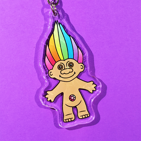 Troll Doll Keyrings