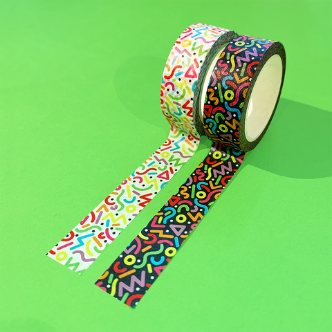 90s Pattern Washi Tape