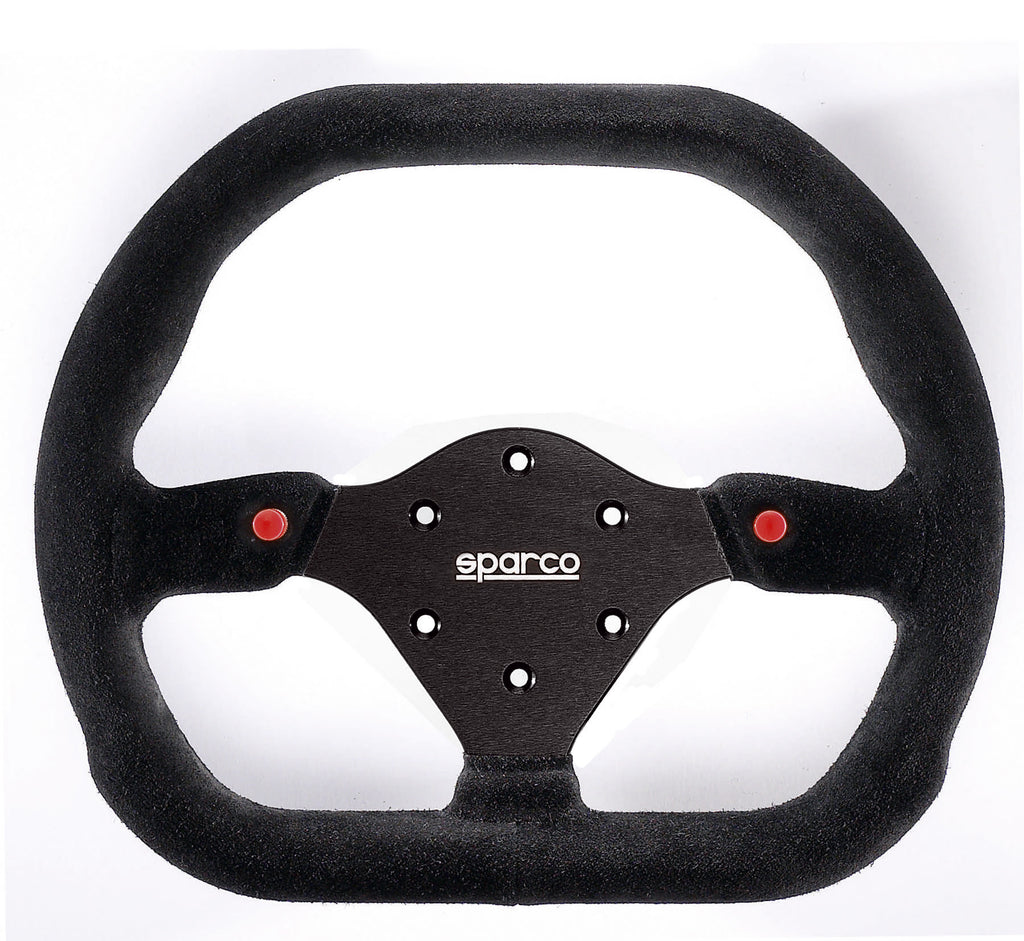Sparco 310 Suede Black Steering Wheel