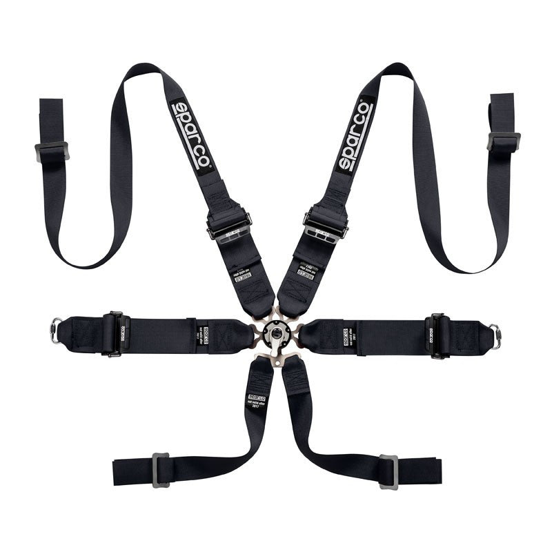 Sparco Racing FIA Hans Titanium 6pt. Racing Harness