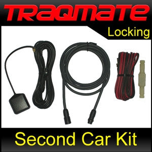 TraqMate Second Car Install Kit - Locking