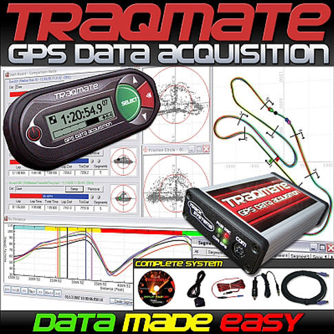 TraqMate Data Acquisition System Complete