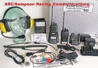 "Sampson Racing Communications The ""Complete"" 5Watt Pro Radio Package"