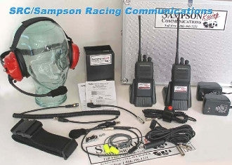 Sampson Racing Communications The 5Watt Racer Radio Package