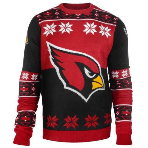 Arizona Cardinals Big Logo Crew Neck Ugly Sweater