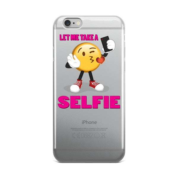 Let me take a Selfie , iPhone case