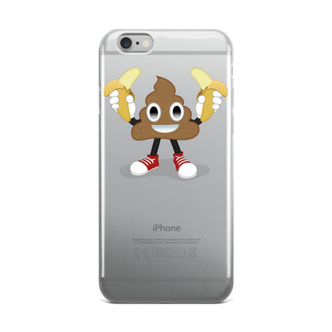 Sh*t is Bananas iPhone case