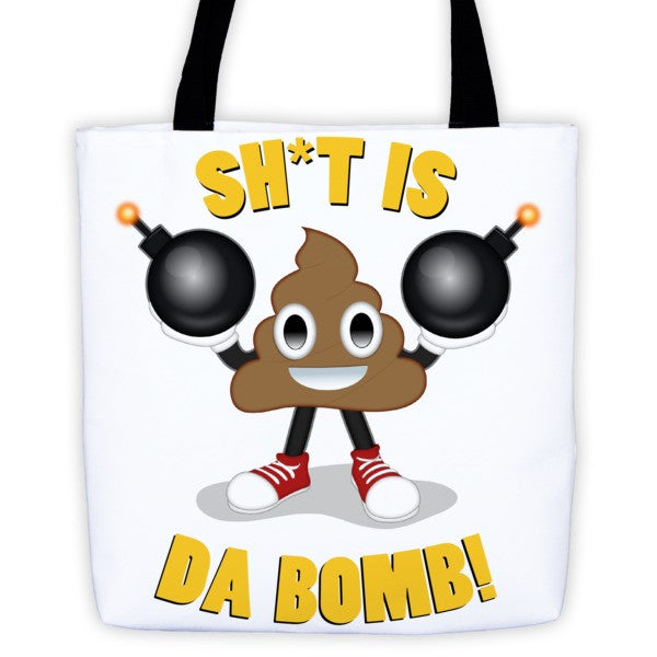 POOP is da bomb Tote bag