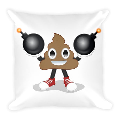 POOP is da Bomb Pillow