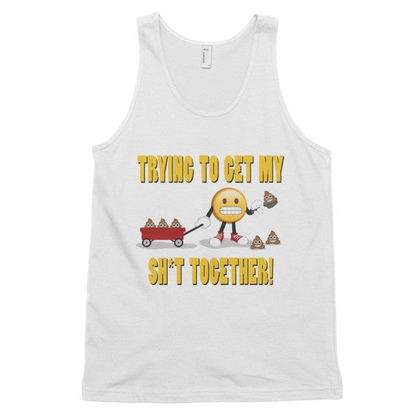 SH*T TOGETHER - Men's Emoji Classic tank top (unisex)