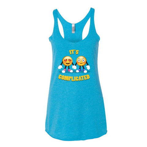 IT'S COMPLICATED - Emoji Women's tank top