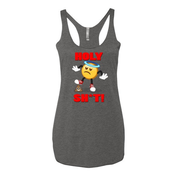 HOLY SH*T - Emoji Women's tank top