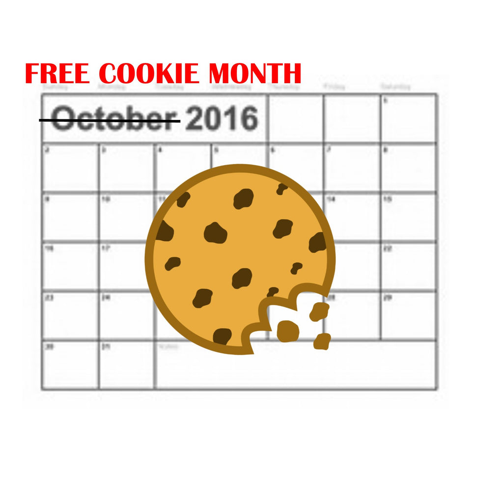 October is National Cookie Month....know what that means?