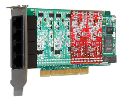 Digium Analog Telephony Cards Bus PCI