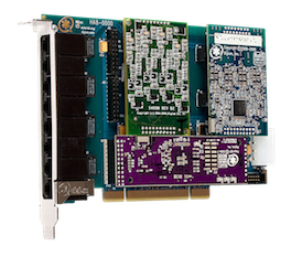 Digium Hybrid Cards Bus PCI - With Echo Cancellation
