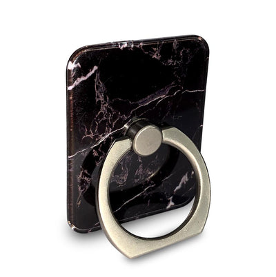 Black Marble Ring Grip