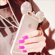 Crystal Mouse Ears Case