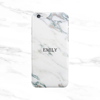 Pure White Marble Name Case