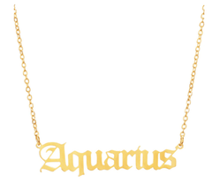 Starsign necklaces