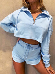 Melbourne Baby blue set