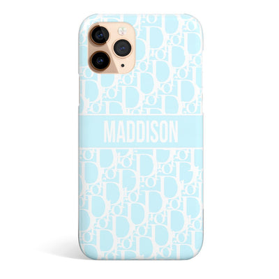 Custom print case Blue