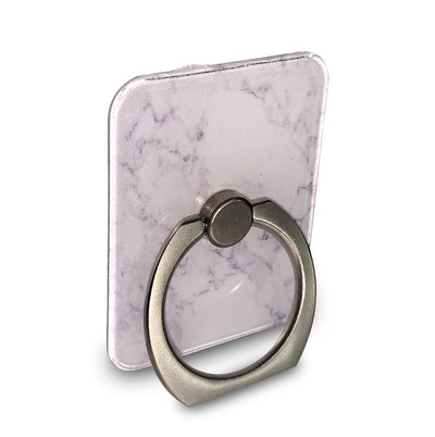 White Marble Ring Grip