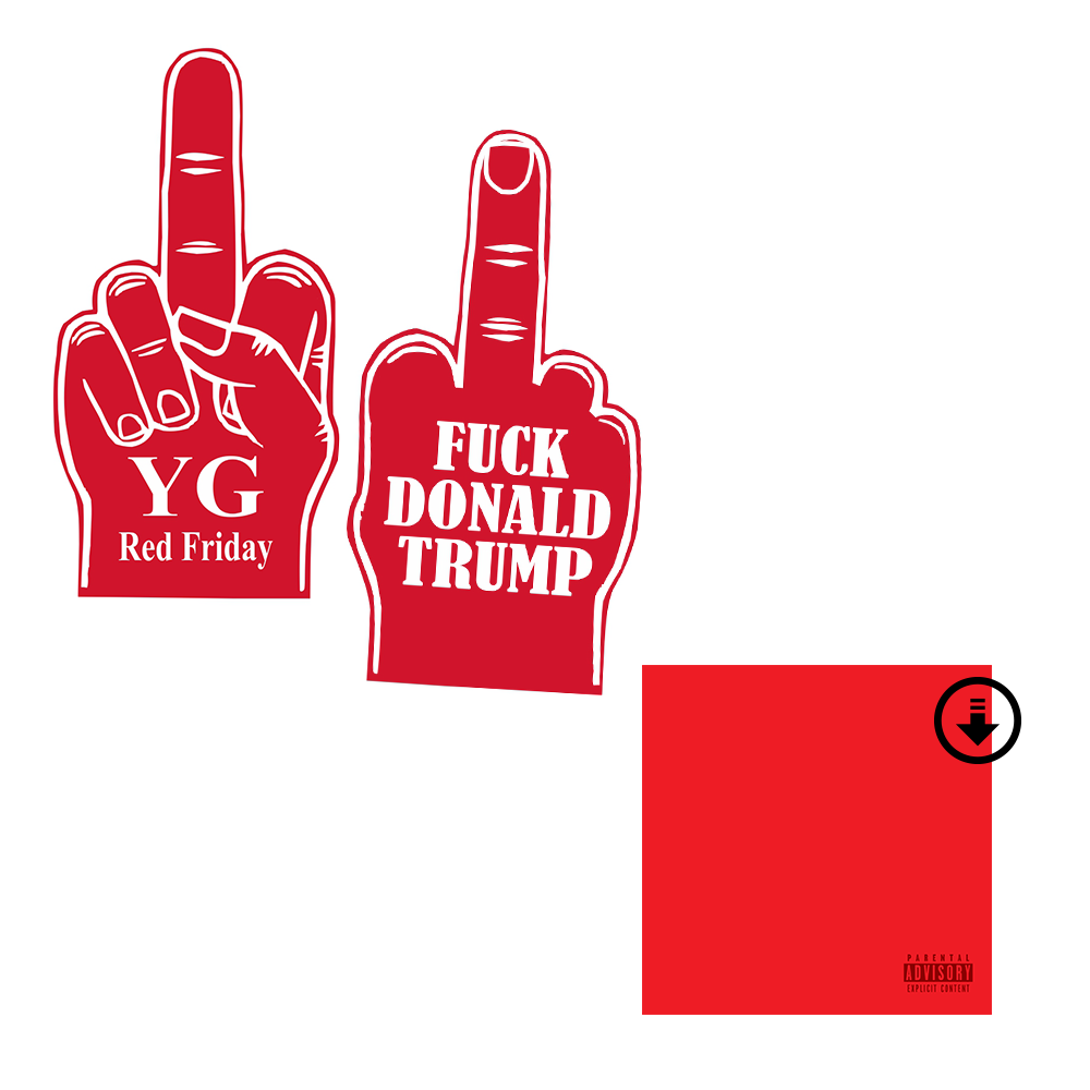 Red Friday FDT Foam Finger Bundle