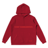 Stay Dangerous Red Hoodie