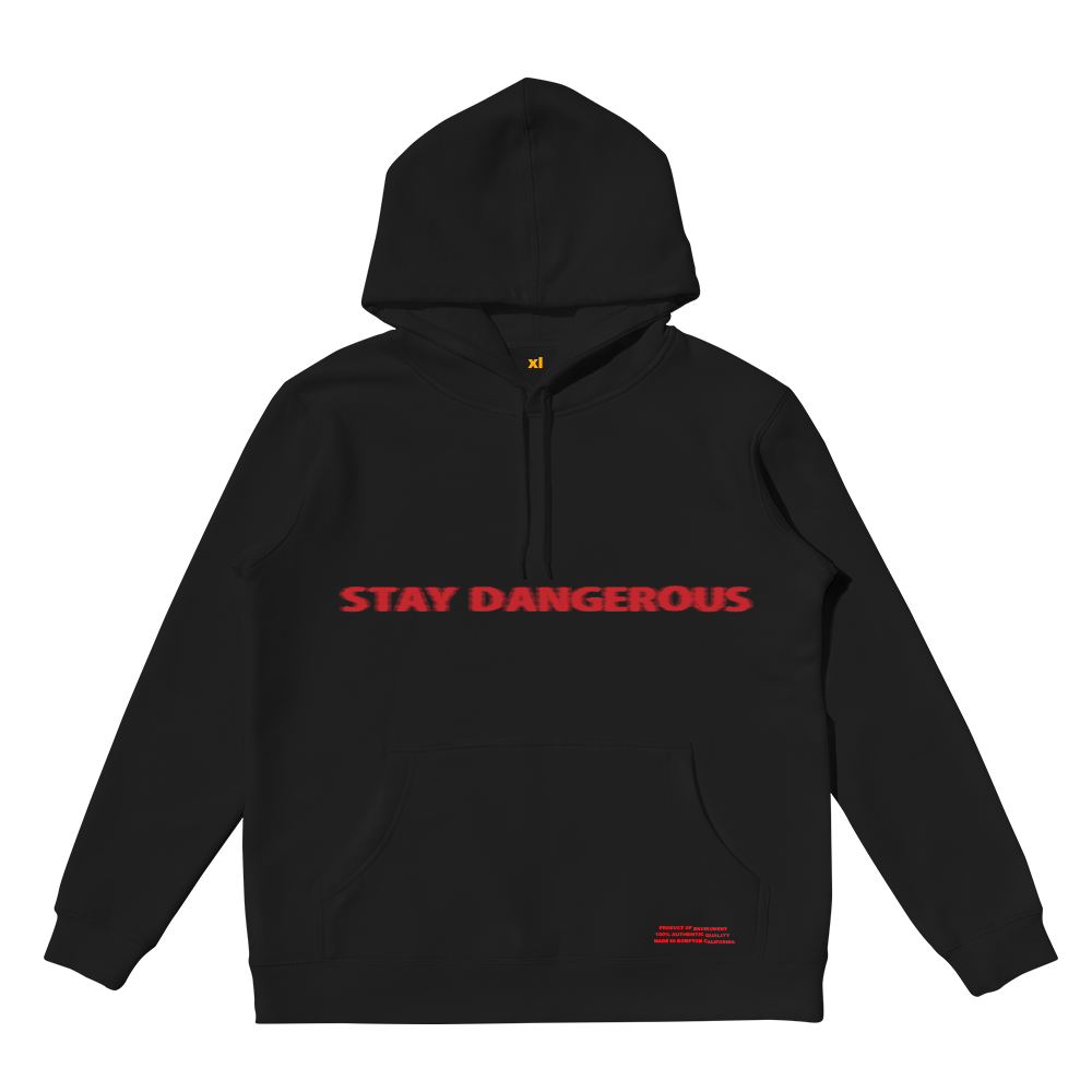 313bd46af6f Stay Dangerous Black Hoodie + Digital Album  Stay Dangerous Black Hoodie +  Digital Album. YG Online Store