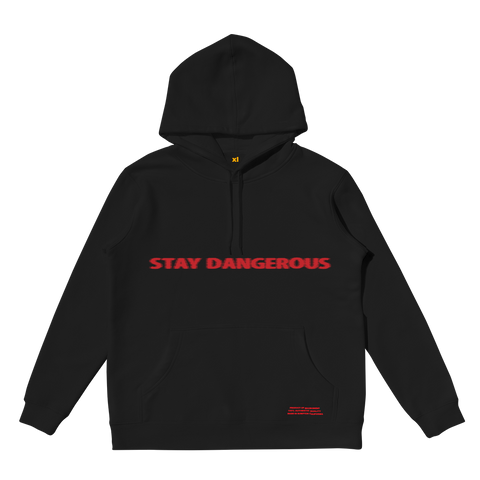 Stay Dangerous Black Hoodie + Digital Album