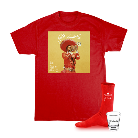 Go Loko Bundle (Red) + Digital Album