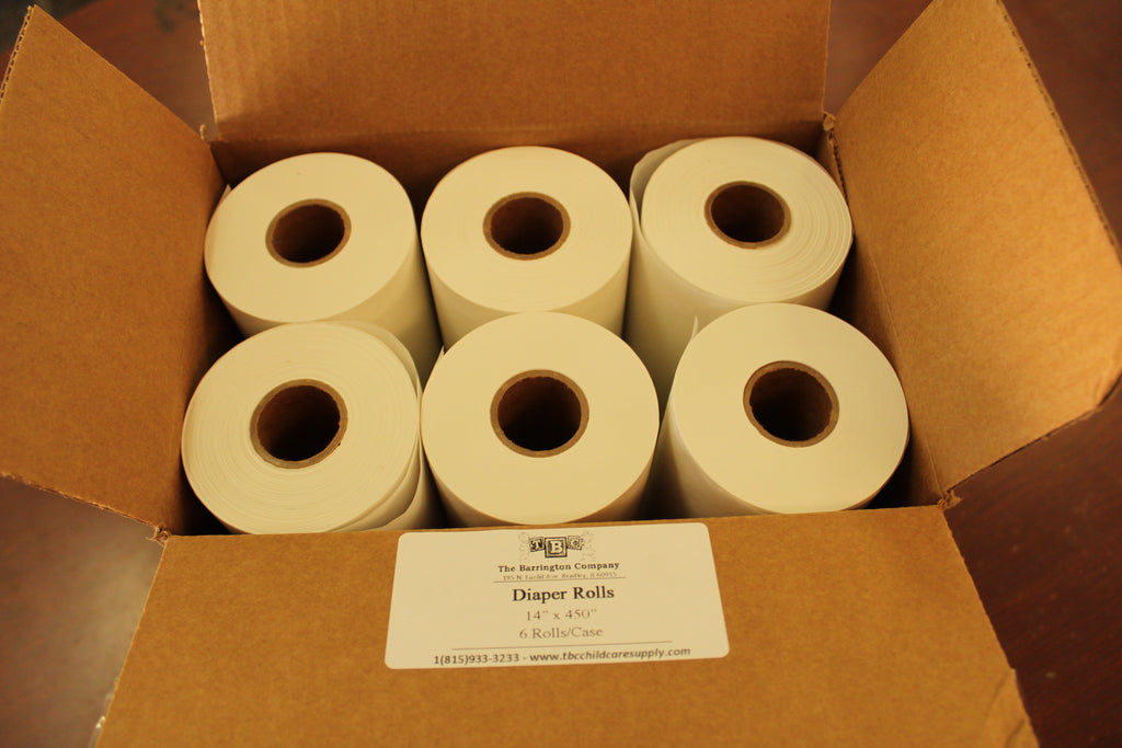 Changing Table Paper Rolls - 14""