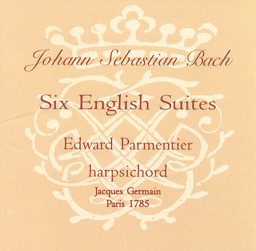 CD - Bach's Six English Suites