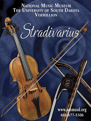 Poster - Stradivari violin and bow