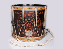 Snare drum by William S. Tompkins, Yonkers, New York, 1860