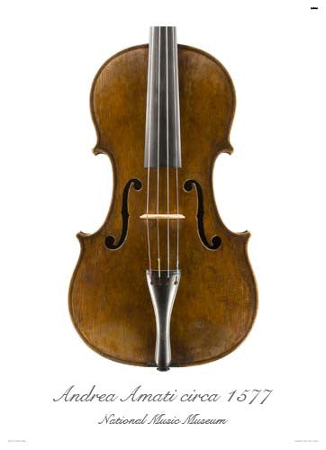 Luthier's Library Photos:  Viola by Andrea Amati, ca. 1560