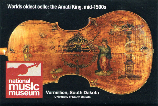 Magnet:  Amati King Cello