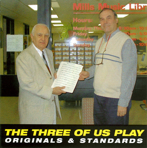 CD: The Three of Us Play Originals and Standards (Polka)