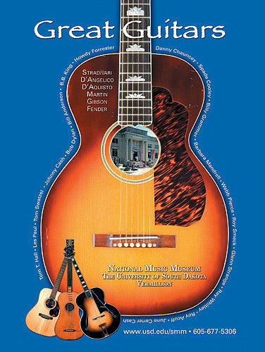 Poster: No. 20 Great Guitars at the NMM