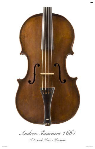 Luthier's Library Photos: Tenor Viola by Andrea Guarneri, 1664