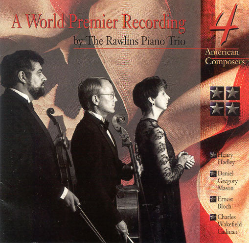 CD: Four American Composers, Performed by The Rawlins Trio