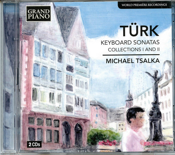 CD: Türk Keyboard Sonatas Collections I and II, Michael Tsalka