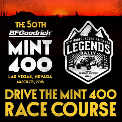 Mint 400 Legends Rally - THIS IS A NON-RACER EVENT ONLY