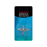 BREZA 3-Way Metal Gang Valve