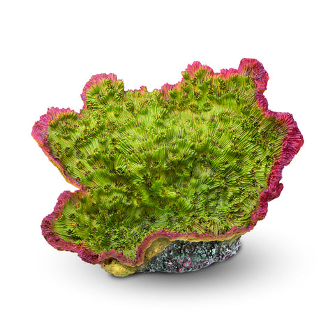 "Aquarium Coral Decor - Green/Purple, 9""x6.7""x6.3"""