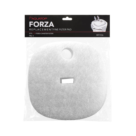 Replacement White Filter Pads for the FZ6