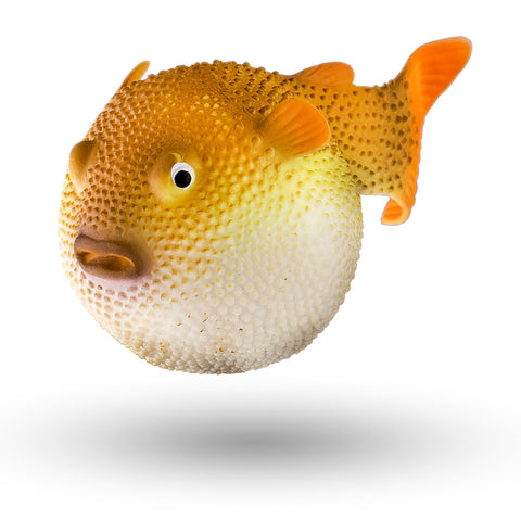 "3"" Puffer Fish Decor, 1 pc"
